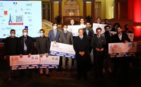 فوز 8 شركات مصرية ناشئة بجوائز الدورة الأولى للمسابقة الفرنسية-المصرية للشركات الناشئة EubEG0lXYAM8R9b