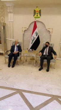 وصل الدكتور محمد عبد العاطى وزير الموارد المائية والرى بسلامة الله إلى العاصمة العراقية بغداد فى مستهل 23562