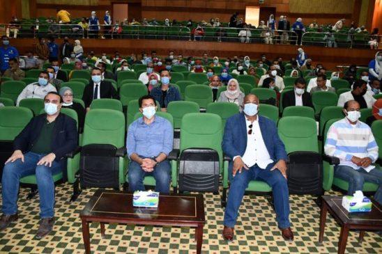 *وزير الشباب والرياضة في لقاء حواري مع مجموعة من شباب الصعيد* في إطار لقاءاته مع شباب مصر من جميع المحافظات، 45202