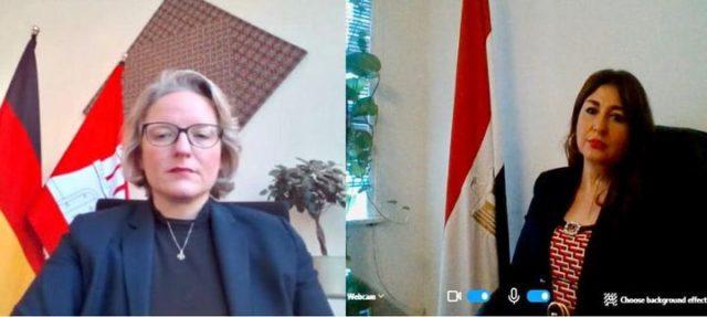 اعتماد قنصل عام جمهورية مصر العربية عن الولايات الشمالية الألمانية - قدمت السفير عبير عمر سليمان، يوم ٩ 56882