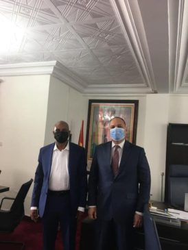 سفير مصر في كوناكري يلتقي وزير التعليم في جمهورية غينيا ــ التقى السفير تامر كمال المليجي 62394