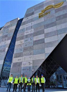 وفد من وزارة التجارة والصناعة يزور الامارات لمتابعة الأعمال التحضيرية وتجهيزات الجناح المصرى بإكسبو دبى 2020 65851