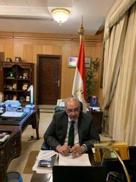 السفير المصري لدى الجمهورية اليمنية يؤكد على التزام مصر بدعم اليمن أجرى السفير أحمد فاروق، سفير جمهورية 70044