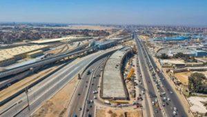 صورة واحدة تضم أربعة مشروعات عملاقة :  1 - محطة عدلي منصور للنقل الكهربي المتكامل
