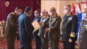 حفل السادة المكرمين الذين انتهت خدمتهم بالقوات المسلحة إعتبارًا من يناير 2021