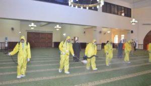 بيان صادر عن وزارة الأوقاف  بالصور:   استعداداً لشهر رمضان المبارك انطلاق حملة الأوقاف الموسعة لنظافة