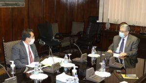 بيان صادر عن وزارة الكهرباء والطاقة المتجددة  *وزير الكهرباء الطاقة المتجددة يبحث مع  الرئيس الجديد