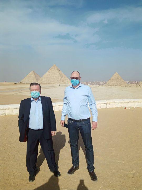 بيان صادر عن وزارة السياحة والآثار في إطار حرص جميع زائري مصر من جميع أنحاء العالم على زيارة منطقة أهرامات 93498