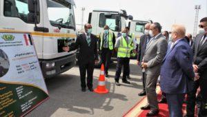 بيان صادر عن وزارة الطيران المدني  وزير الطيران المدنى يتفقد أحدث معدات الشركة المصرية لخدمات الطيران ( EAS )