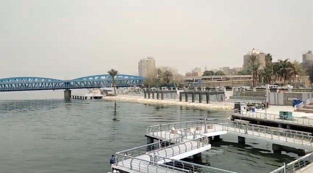 """مشروع """"ممشى أهل مصر"""" على نهر النيل في المرحلة الممتدة من كوبري إمبابة حتى كوبري 15 مايو EyZnDjDXMAM4JRp"""