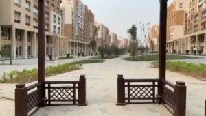 جولة بمنطقة البلازا والممشي الترفيهي في الحي السكني الثالث  Capital Residence R3 بالعاصمة الإدارية الجديدة، والذي