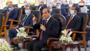 الرئيس عبدالفتاح السيسي أثناء إفتتاح مجمع الإصدارات المؤمنة والذكية : هذا المشروع لا تمتلكه سوى دول قليلة