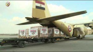 بتوجيهات من الرئيس السيسى مصر ترسل مساعدات طبية إلى جمهورية بوروندى