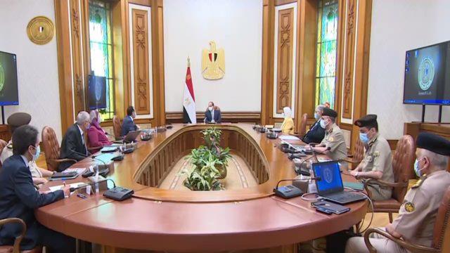 الرئيس عبد الفتاح السيسي يتابع الموقف التنفيذي لإقامة منظومة متكاملة لإنتاج الأطراف الصناعية في مصر، wxpZoqbg 06O8yhh