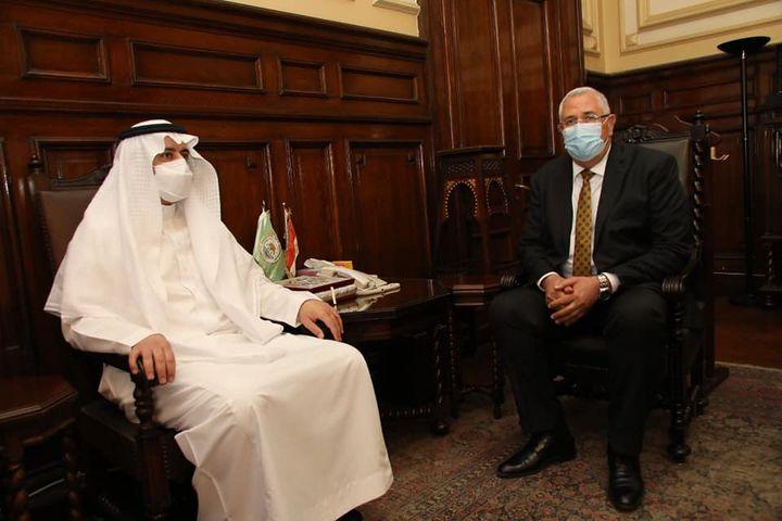 بيان صادر عن وزارة الزراعة واستصلاح الأراضي وزير الزراعة يستقبل وفدا سعوديا رفيع المستوي ويؤكد استمرار 16162