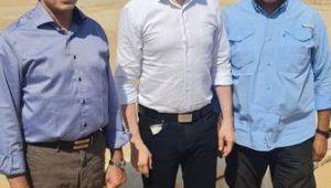 رئيس الوكالة الدولية لمكافحة المنشطات (وادا) يزور منطقة أهرامات الجيزة