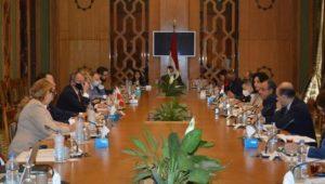 انعقاد جلسة المشاورات الثنائية بين مصر وبولندا  عقد السفير د