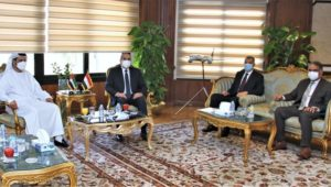 بيان صادر عن وزارة الطيران المدني:  وزير الطيران المدني يلتقى سفير دولة الامارات العربية المتحدة والمدير