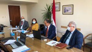 انعقاد المشاورات السياسية بين مصر وإسبانيا على مستوى مساعدي وزير الخارجية افتراضياً  ----------------  عقد السفير
