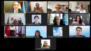 لجنة بناء السلام بالأمم المتحدة ترحب بنتائج النسخة الثانية من منتدى أسوان للسلام والتنمية المستدامين  ****