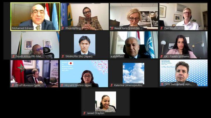 لجنة بناء السلام بالأمم المتحدة ترحب بنتائج النسخة الثانية من منتدى أسوان للسلام والتنمية المستدامين **** 56137