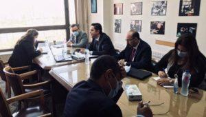 انعقاد المشاورات السياسية بين مصر ونيوزيلاندا عبر الفيديو كونفرانس  عُقدت اليوم، 8 يونيو الجاري،