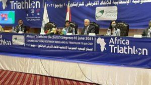 بيان صادر عن وزارة الشباب والرياضة:  وزير الرياضة يشهد الجمعية العمومية للاتحاد الإفريقي للتراثيلون بشرم