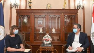 بيان صادر عن وزارة السياحة والآثار:  ١٠ يونيو ٢٠٢١  -وزير السياحة و الآثار يستقبل المُنسق المقيم للأمم
