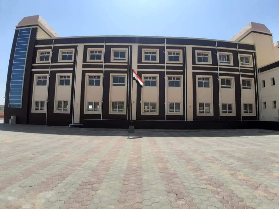 """رئيس جهاز مدينة """"الشروق"""": جارٍ الانتهاء من التجهيزات الأخيرة لتشغيل باقي المراحل التعليمية بمدرسة النيل E3iWjXSXEAcOC4I"""