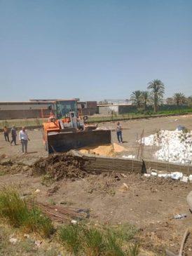 بيان صادر عن وزارة الزراعة واستصلاح الأراضي: الزراعة بالصور استمرار العمل بغرفة عمليات حماية الأراضي 91364