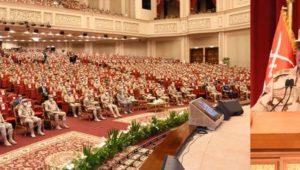 الفريق أول / محمد زكى القائد العام للقوات المسلحة وزير الدفاع والإنتاج الحربى يلتقى عدداً من الضباط المعينين