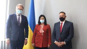 بيان صحفي  - نائب وزير السياحة والآثار لشئون السياحة في زيارة ترويجية إلى العاصمة الأوكرانية كييف  في