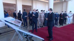 """من مسجد """"مالك المُلك"""" الرئيس عبد الفتاح السيسي، يتابع الموقف التنفيذي والانشائي الخاص بمشروعات مدينة"""