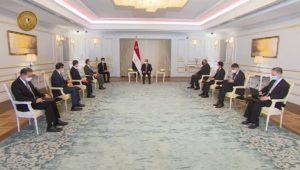 استقبل الرئيس عبد الفتاح السيسي اليوم السيد وانج يي، وزير خارجية الصين، اللقاء شهد تعزيز أوجه التعاون