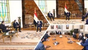 نشاط السيد الرئيس عبد الفتاح السيسي خلال اليوم  ٢٠٢١/٠٧/١٤