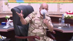 القائد العام للقوات المسلحة يشهد المرحلة الرئيسية لمشروع مراكز القيادة التعبوى (تيمور 14)