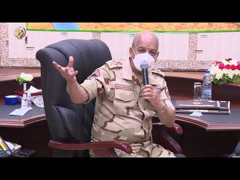 القائد العام للقوات المسلحة يشهد المرحلة الرئيسية لمشروع مراكز القيادة التعبوى (تيمور 14) hqdefau 133