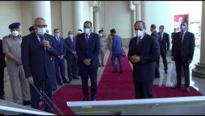 الرئيس عبد الفتاح السيسي يستعرض مشروعات مدينة العلمين الجديدة