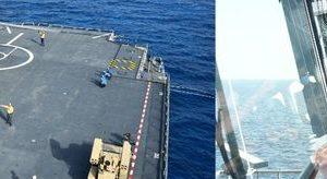 المتحدث العشكرى الفريق / محمد فريد رئيس أركان حرب القوات المسلحة يشهد أحد الأنشطة التدريبية البحرية ضمن