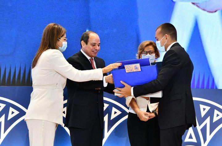 فعاليات إطلاق تقرير ِالتنميةِ البشرية في مِصرَ 2021 تحت عنوانِ التنميةُ حقٌ للجميع: مِصرُ المسيرةِ والمسار 30450
