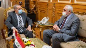 بيان صادر عن وزارة الدولة للإنتاج الحربي:  وزير الدولة للإنتاج الحربي يلتقي السفير العراقي  لمناقشة