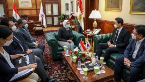 بيان صادر عن وزارة الصحة والسكان:  وزيرة الصحة تستقبل سفير كوريا الجنوبية لدى مصر لبحث سبل تعزيز التعاون بين
