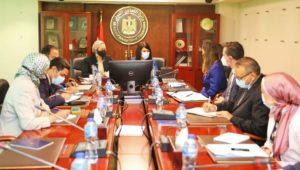 وزيرتا البيئة والتعاون الدولي يبحثان مع البنك الدولي الإطار العام للتعاون المشترك بشأن تطوير سياسات مكافحة