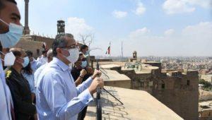بيان صادر عن وزارة السياحة والآثار:  ١٦ سبتمبر  ٢٠٢١  - جولة وزير السياحة والآثار بقلعة صلاح الدين الأيوبي