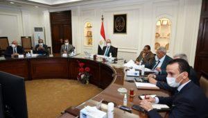 وزير الإسكان يتابع الموقف التنفيذى لمشروعات المبادرة الرئاسية حياة كريمة لتطوير الريف المصرى  الجزار