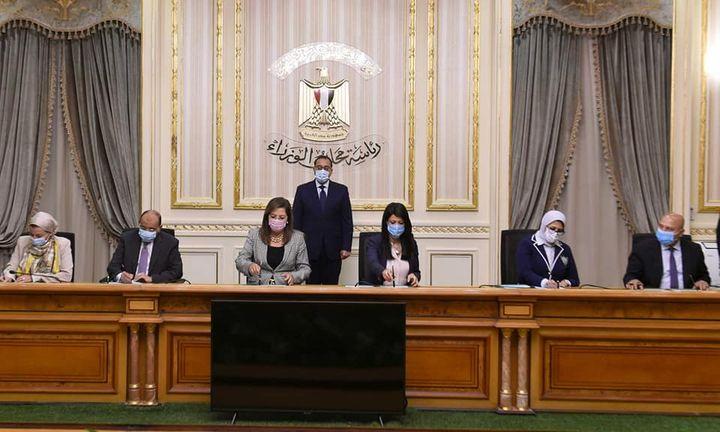 رئيس الوزراء يشهد توقيع الاتفاقية الوزارية لتنفيذ مشروع إدارة تلوث الهواء وتغير المناخ في القاهرة الكبرى 67381