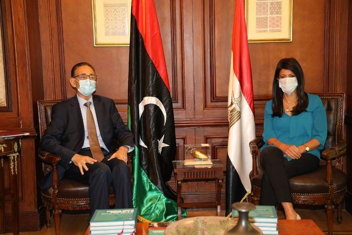 بيان صادر عن وزارة التعاون الدولي: 14 سبتمبر 2021 انطلاق الاجتماعات التحضيرية للجنة العليا المصرية الليبية 67889