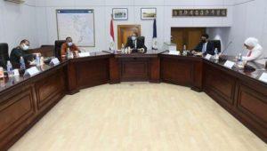 بيان صادر عن وزارة السياحة والآثار:  ١٤سبتمبر ٢٠٢١  - وزير السياحة والآثار يعقد اجتماعاً موسعاً مع لجنة
