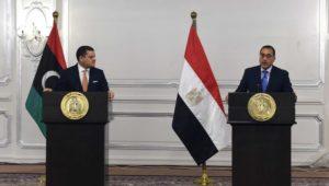 في مؤتمر صحفي عقب انتهاء اجتماع اللجنة العليا المشتركة المصرية الليبية:  مدبولي: حريصون على تقديم مختلف