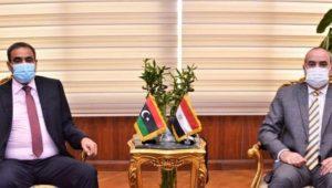 بيان صادر عن وزارة الطيران المدني:  وزير الطيران المدنى  يبحث سبل  التعاون مع وزير المواصلات الليبى